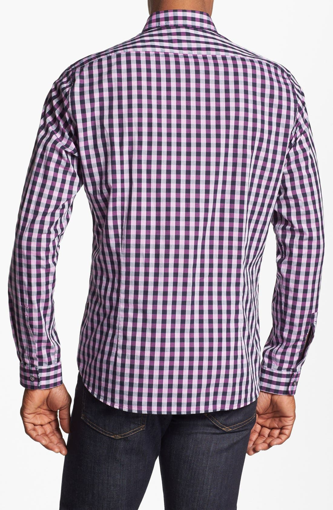 Alternate Image 2  - BOSS HUGO BOSS 'Lorenzo' Regular Fit Sport Shirt