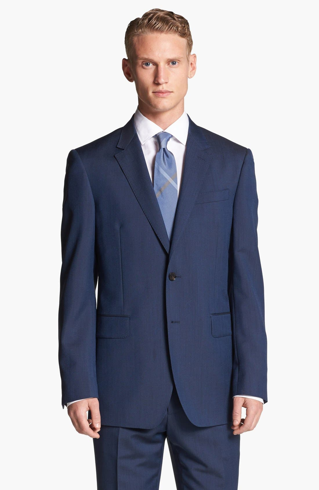 Alternate Image 4  - Burberry London Wool & Mohair Suit