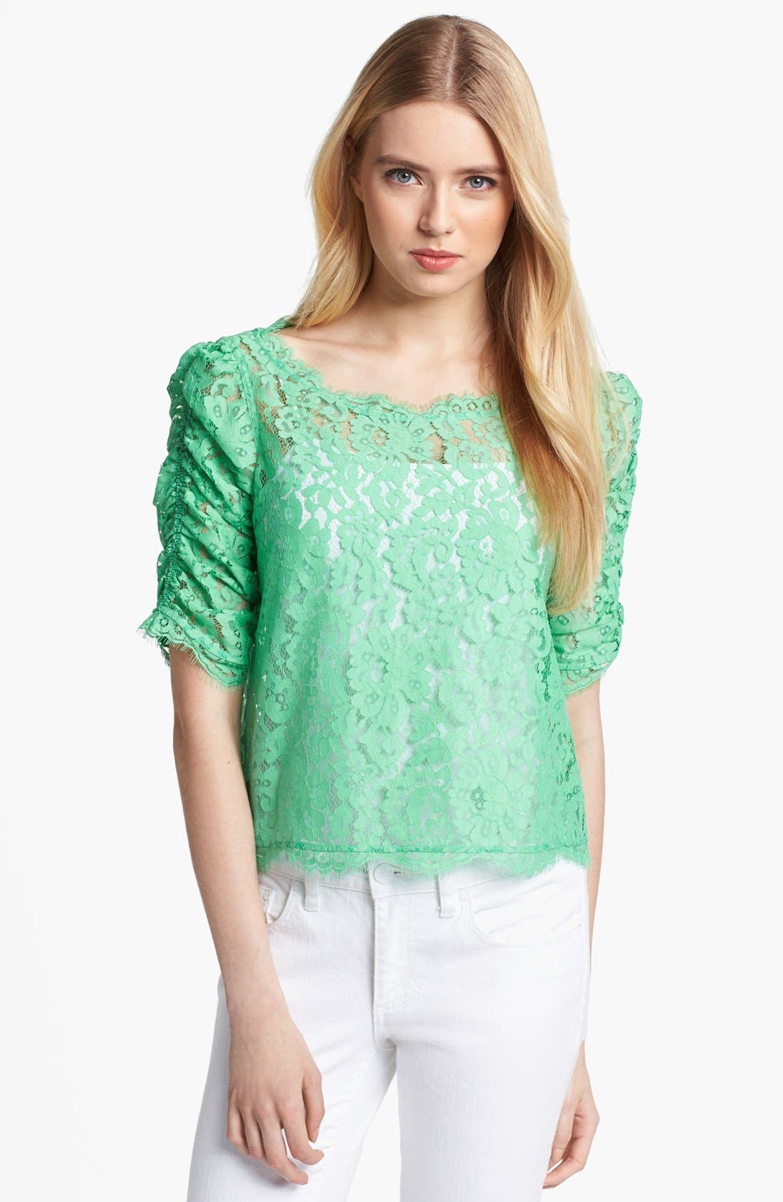 Alternate Image 1 Selected - Joie 'Fanny' Lace Top