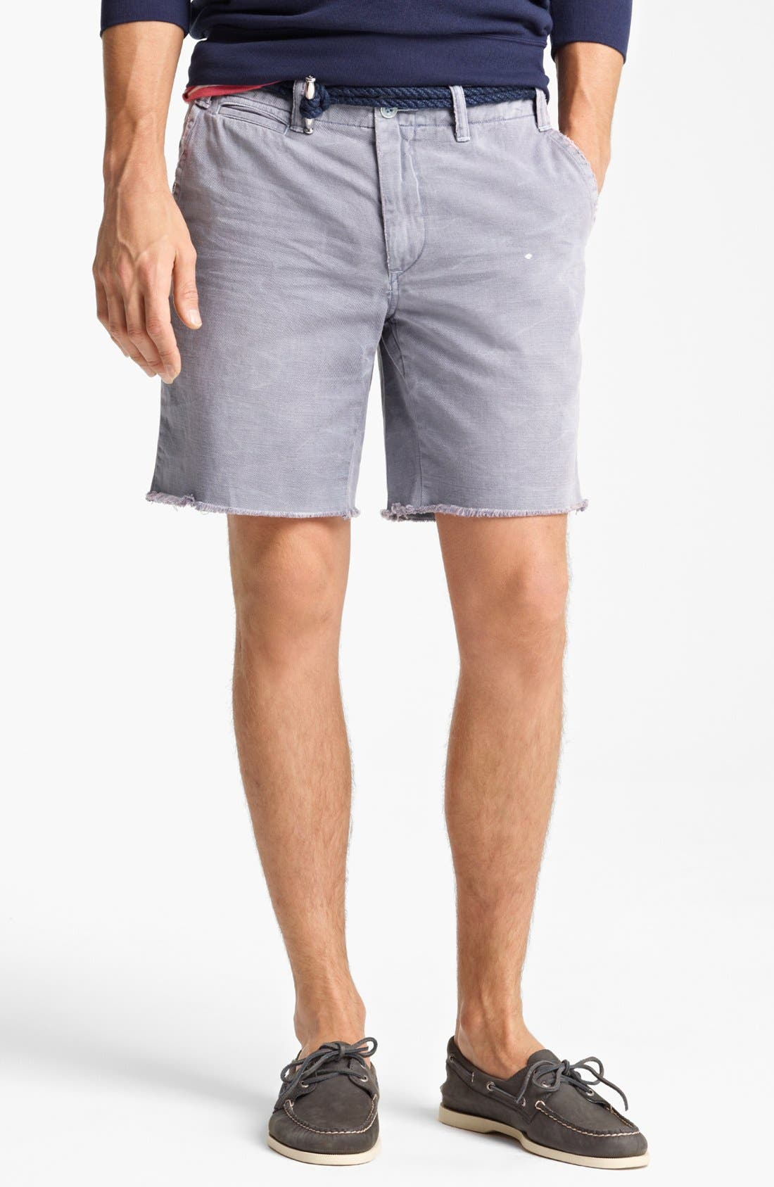 Alternate Image 1 Selected - Polo Ralph Lauren Cut Off Chino Shorts