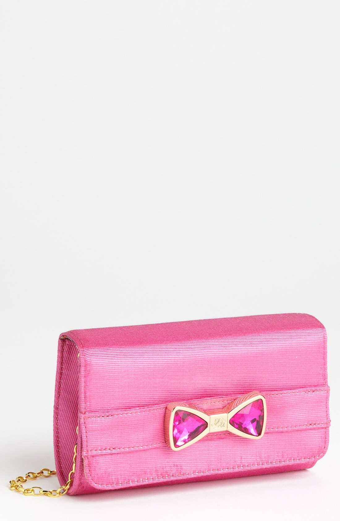 Main Image - Ted Baker London Crystal Bow Clutch