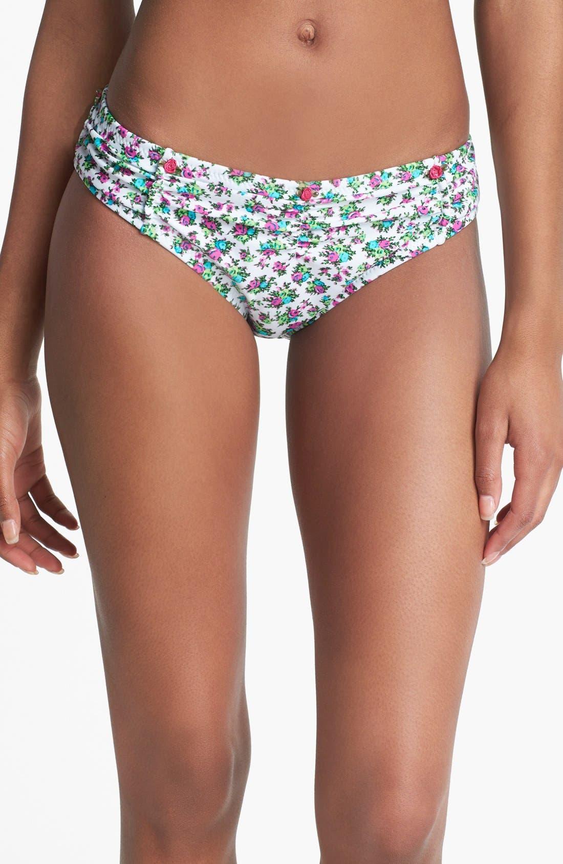 Alternate Image 1 Selected - Betsey Johnson 'Enchanted' Hipster Bikini Bottoms