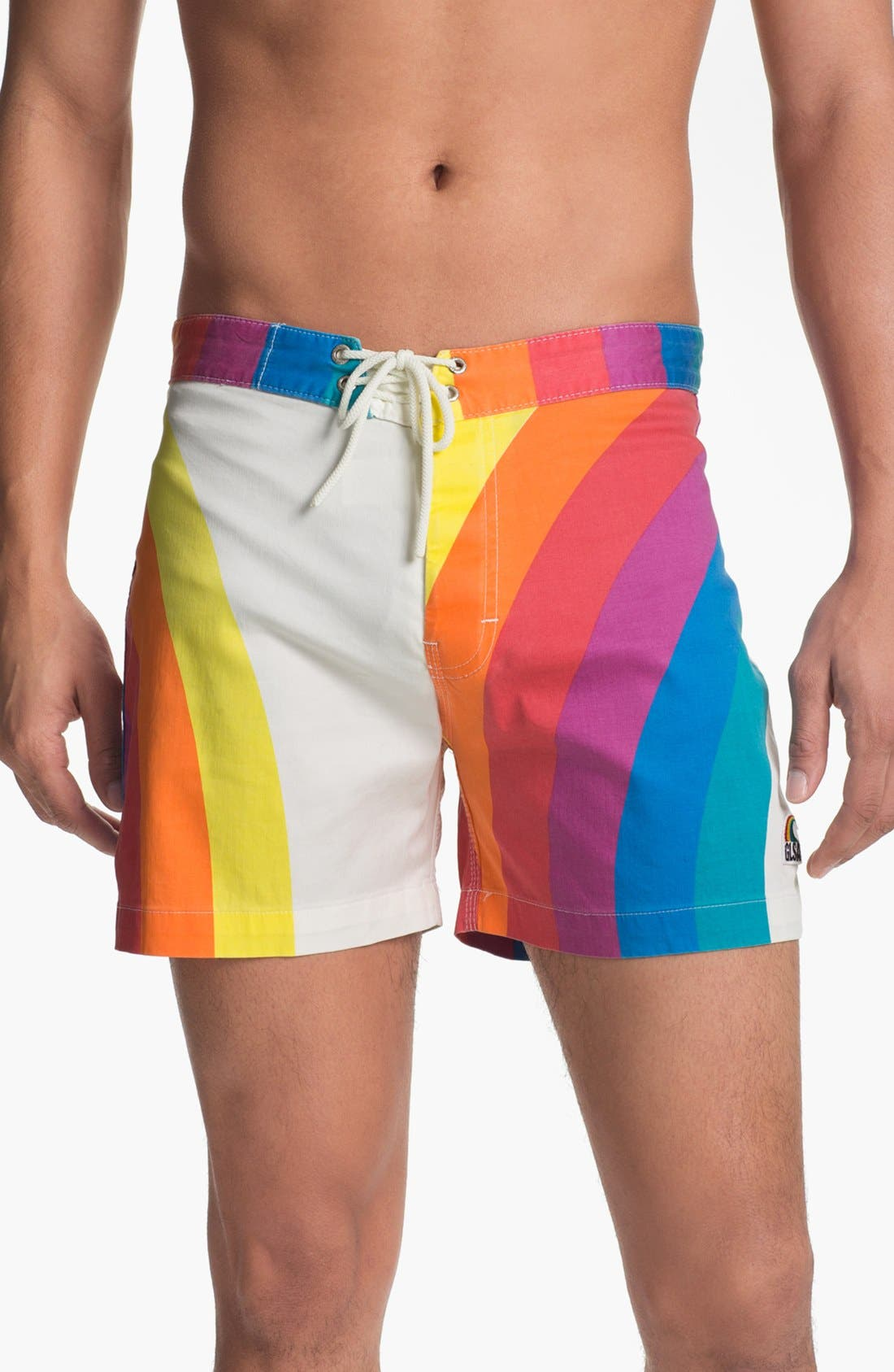 Main Image - Warriors of Radness 'GLSA' Board Shorts
