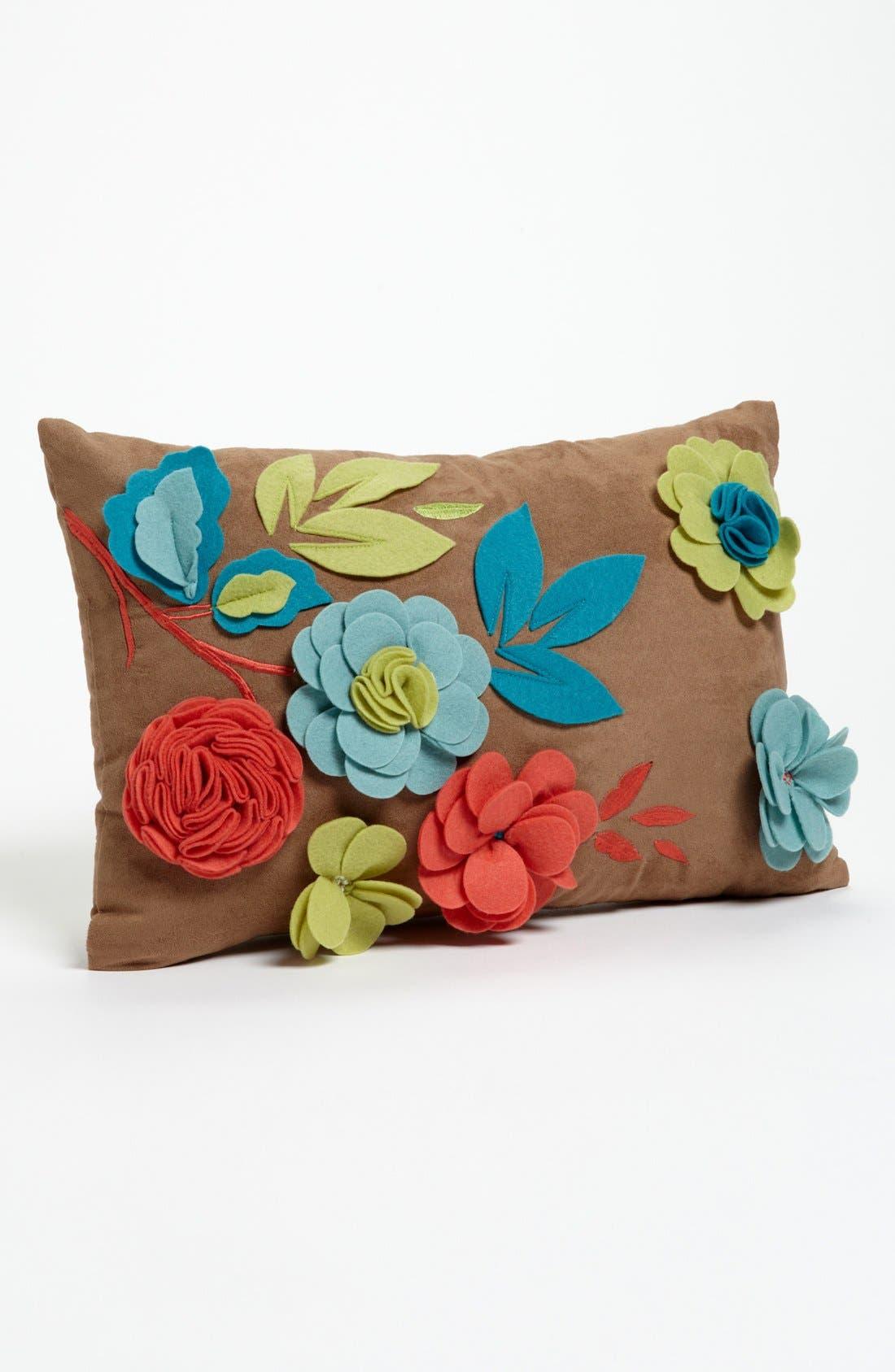 Alternate Image 1 Selected - Mina Victory Dahlia Flower Pillow