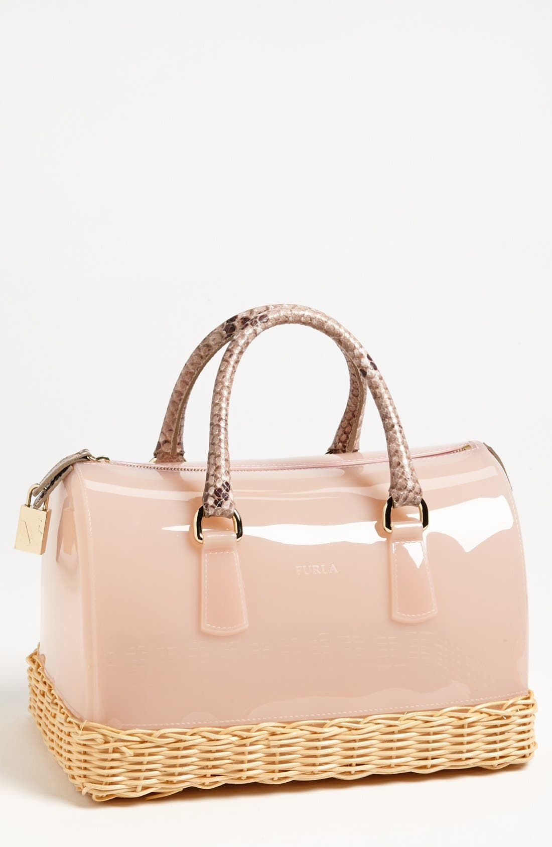 Main Image - Furla 'Candy' Rubber Satchel