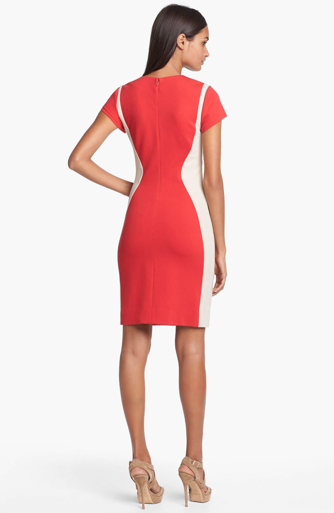 Alternate Image 2  - Diane von Furstenberg 'Dayton' Stretch Sheath Dress