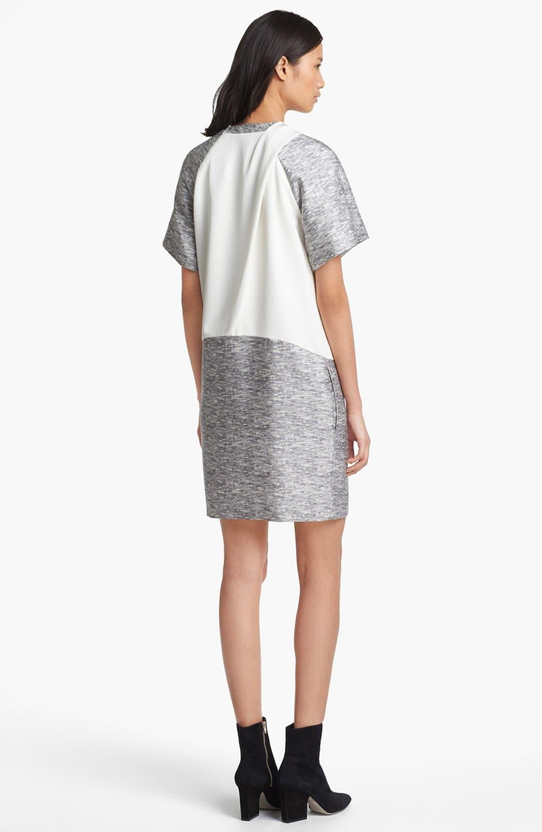 Alternate Image 2  - Alexander Wang Mélange Print Wool & Silk Dress