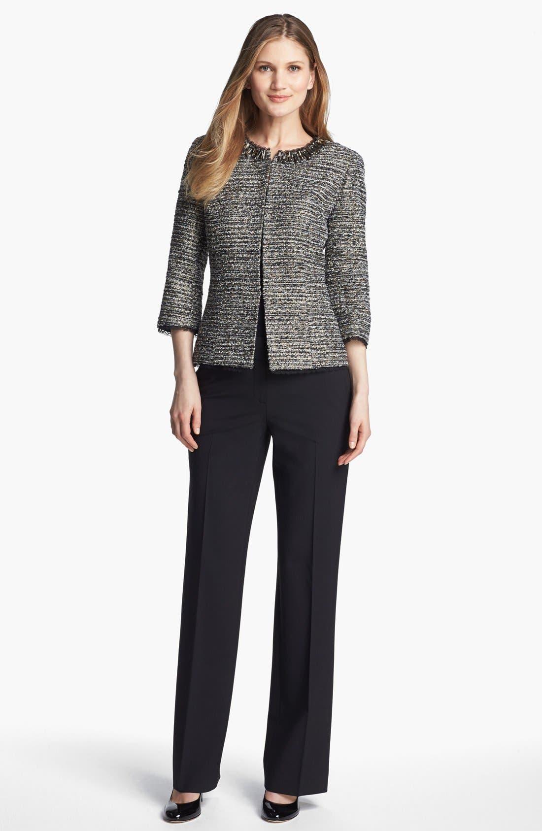 Alternate Image 3  - Classiques Entier® 'Lavish Bouclé' Embellished Jacket