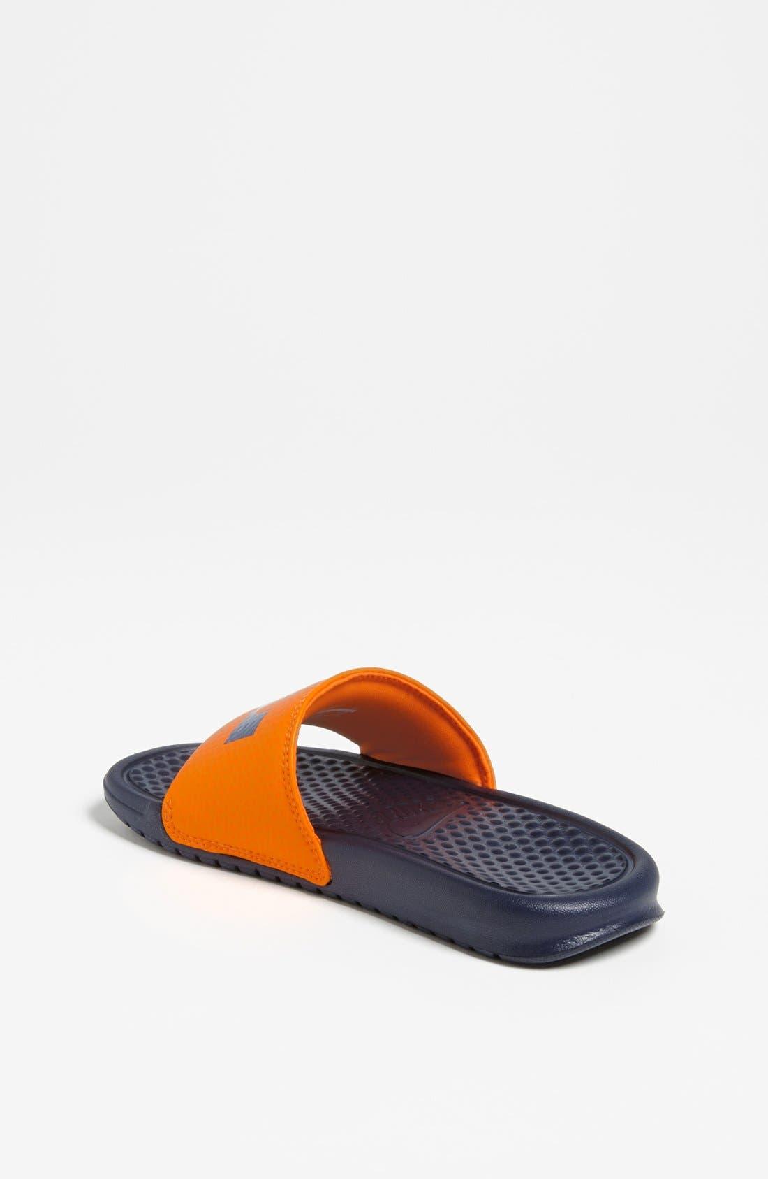 Alternate Image 2  - Nike 'Lebron James - Benassi' Sandal (Toddler, Little Kid & Big Kid)