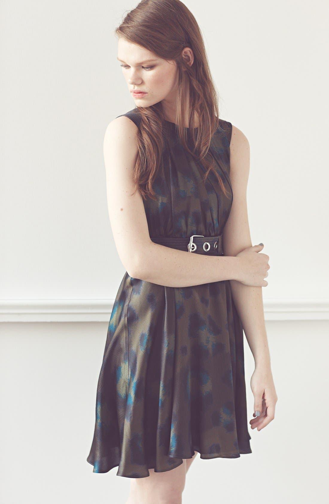 Alternate Image 4  - KENZO Twist Neck Leopard Print Dress