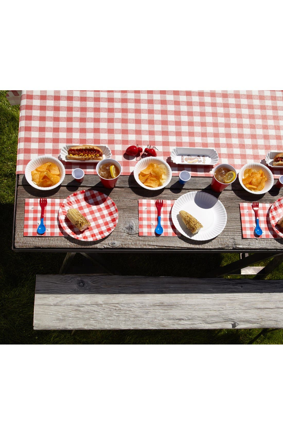 Alternate Image 3  - Kitchen Papers by Cake 'Italian Checked' Paper Table Runner