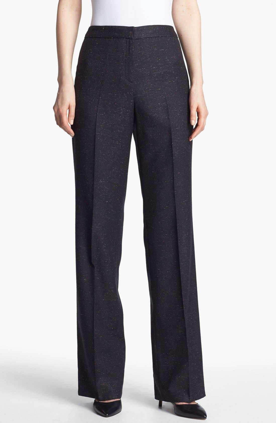 Alternate Image 1 Selected - Santorelli 'Mara' Tweed Trousers