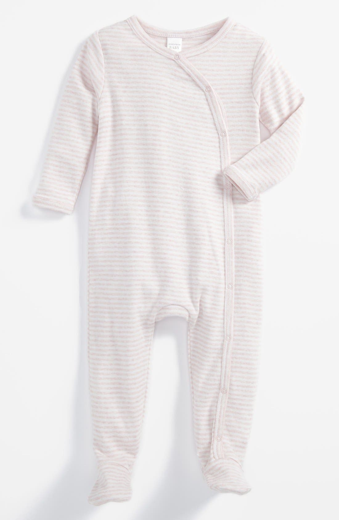 Alternate Image 1 Selected - Nordstrom Baby 'Welcome Home' Footie (Baby)