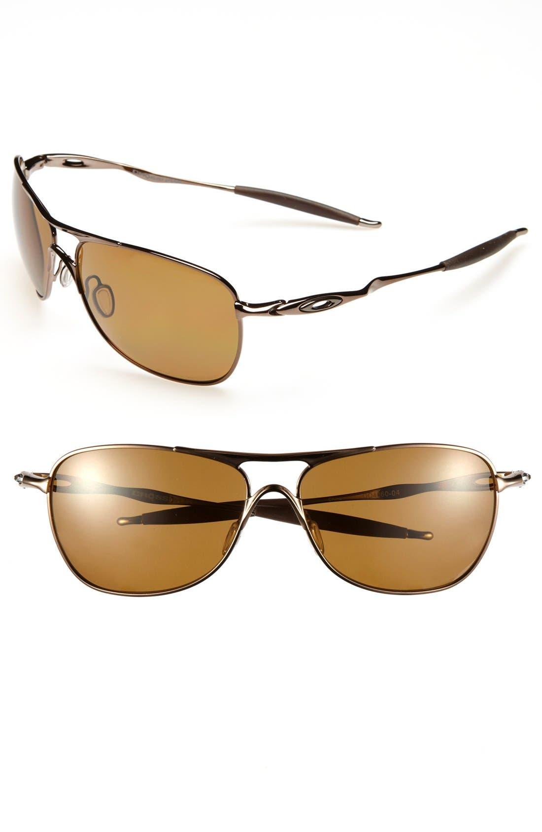 Alternate Image 1 Selected - Oakley 'Crosshair' 62mm Polarized Sunglasses