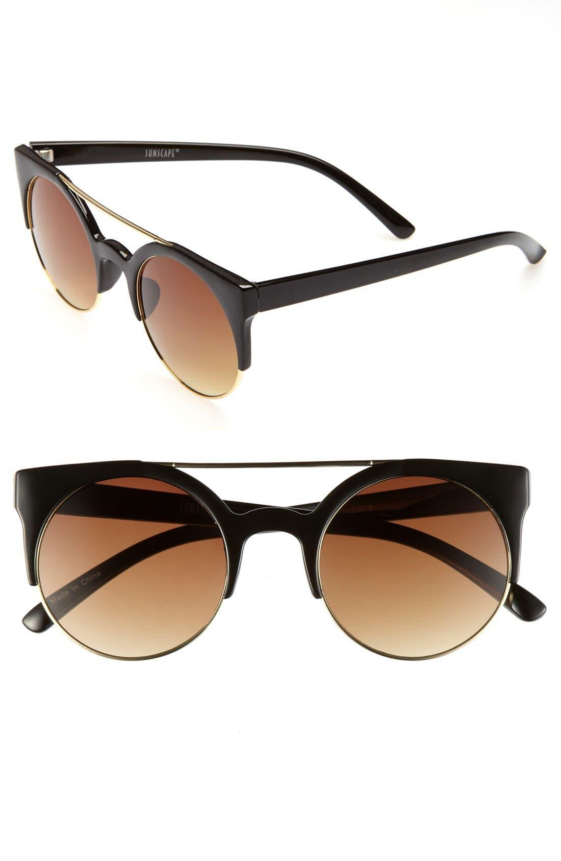 Main Image - BP. Tortoiseshell Retro Sunglasses