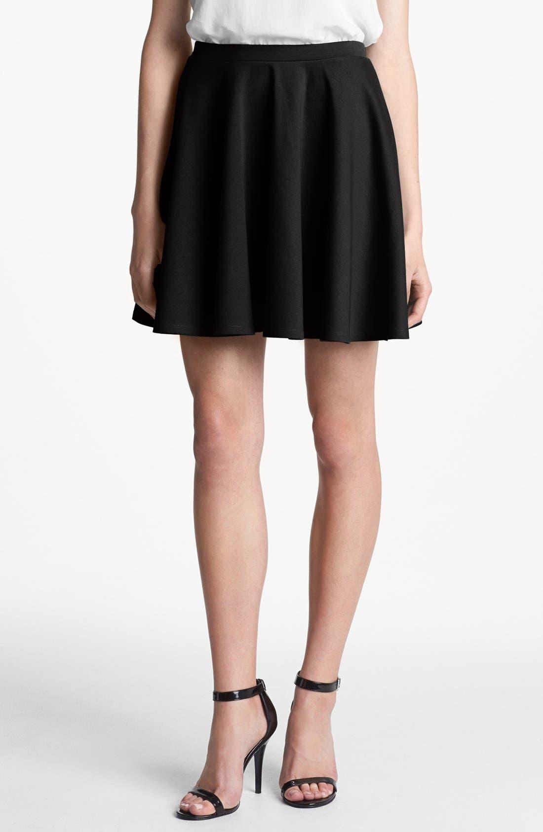 Alternate Image 1 Selected - Hinge® Ponte Knit Circle Skirt