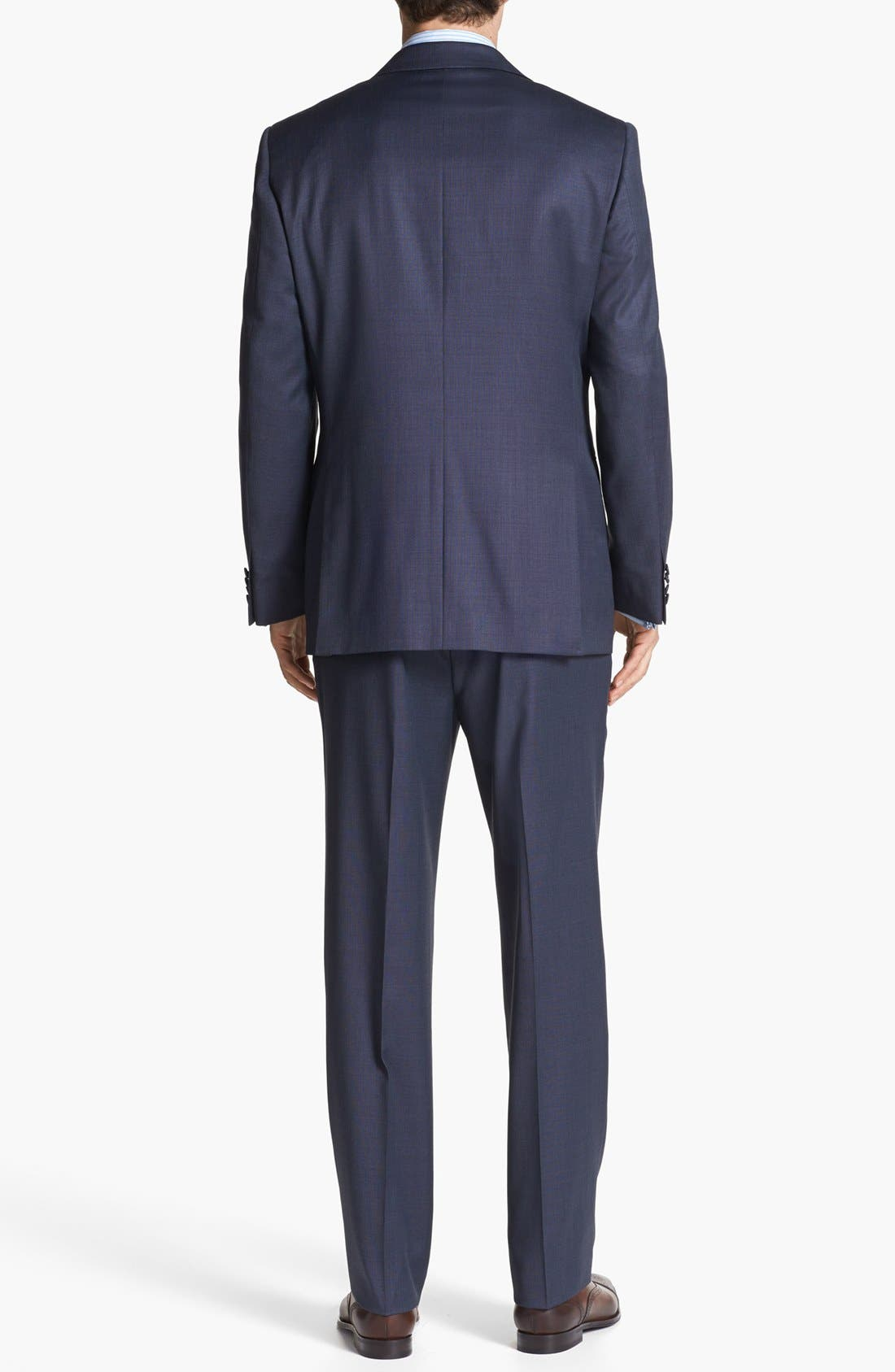 Alternate Image 3  - Joseph Abboud 'Signature Silver' Wool Suit