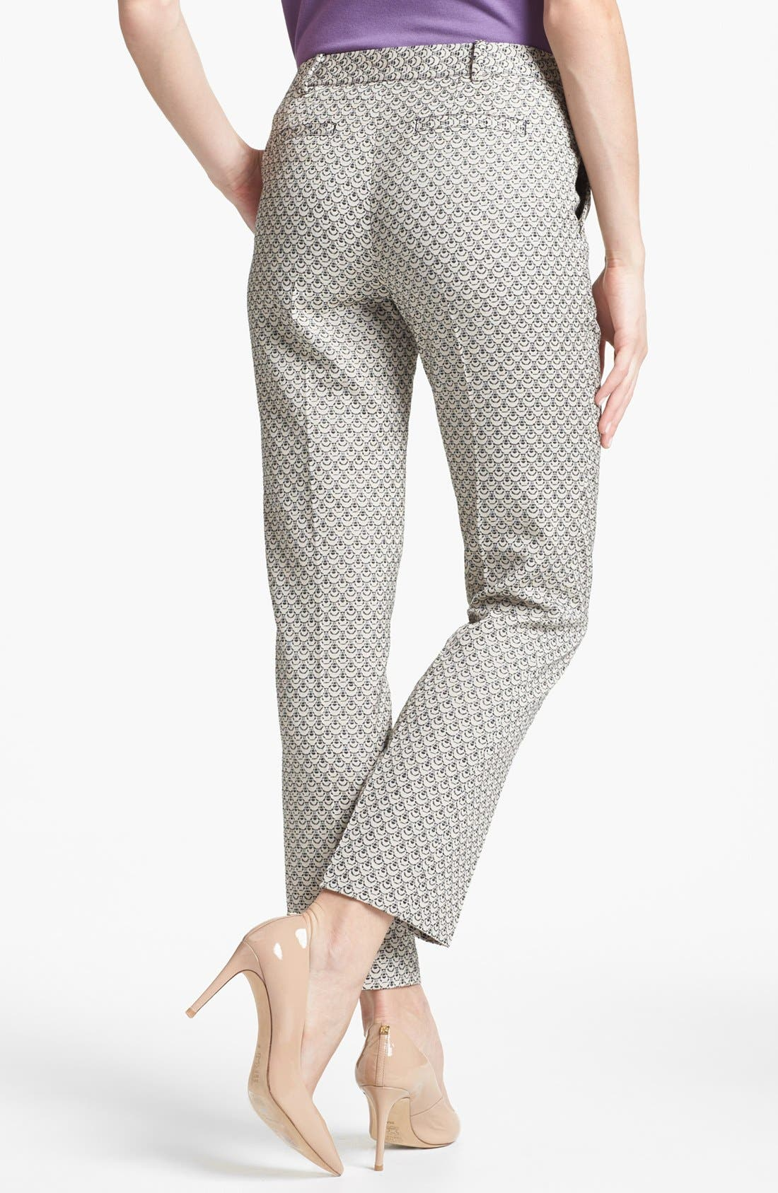 Alternate Image 2  - Tory Burch 'Isabella' Crop Trousers