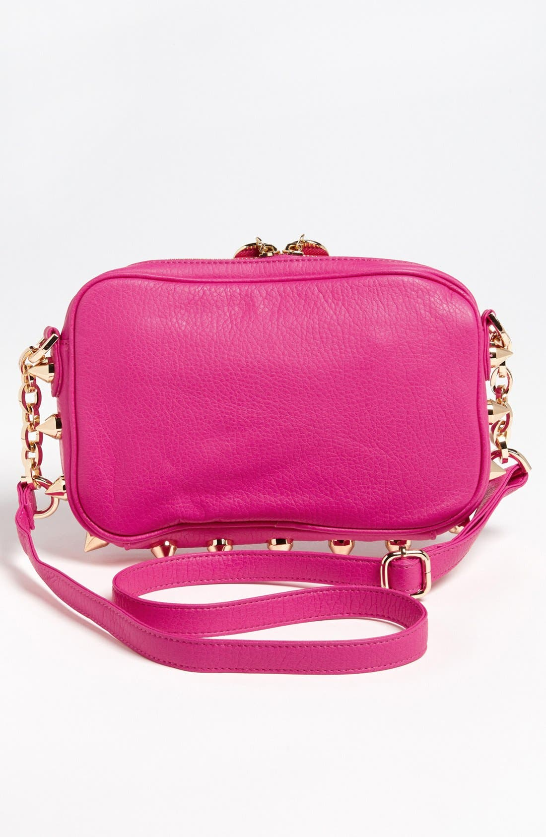 Alternate Image 4  - Deux Lux 'Empire State' Faux Leather Crossbody Bag