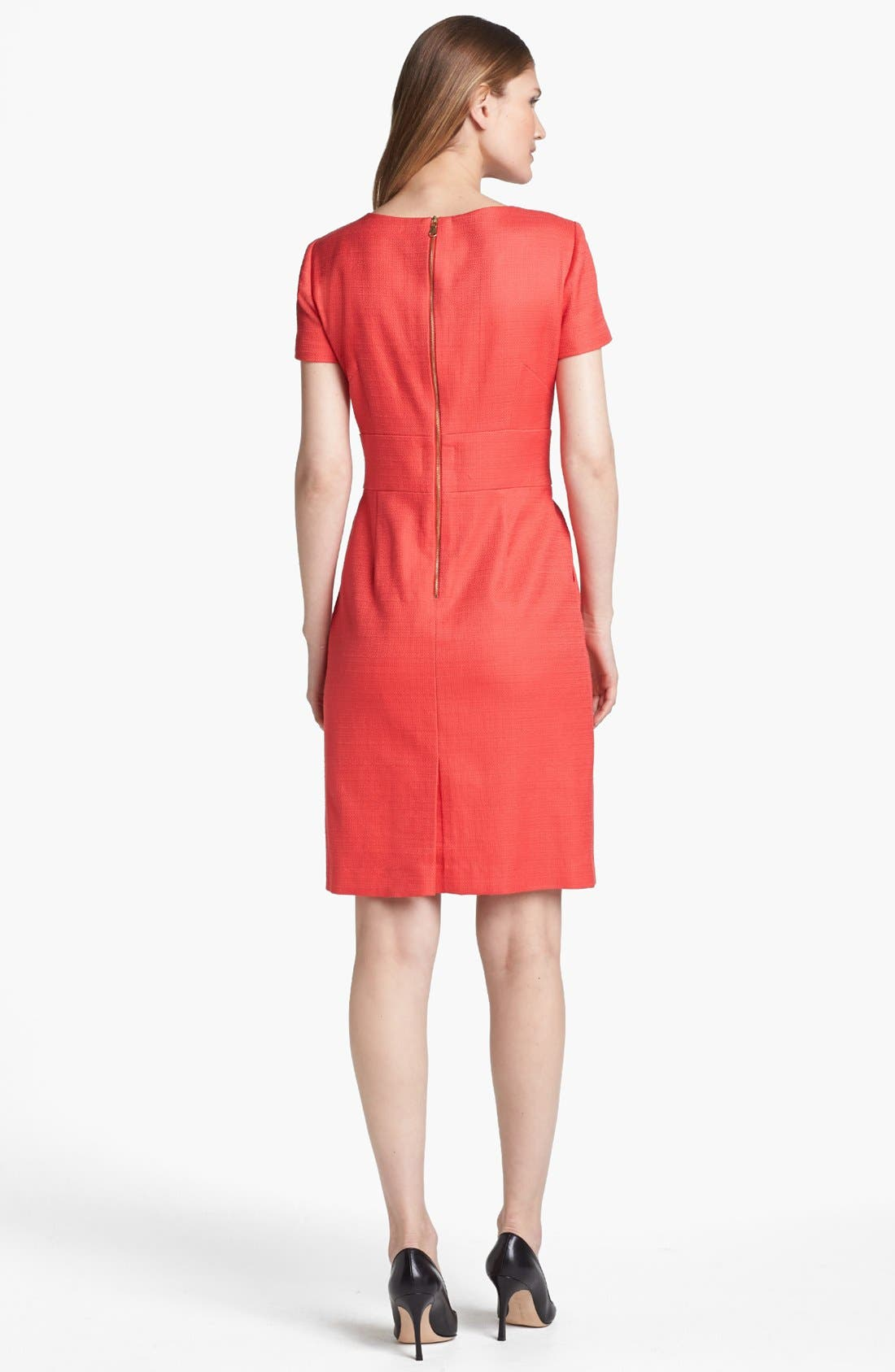 Alternate Image 2  - Tahari Hardware Detail Sheath Dress