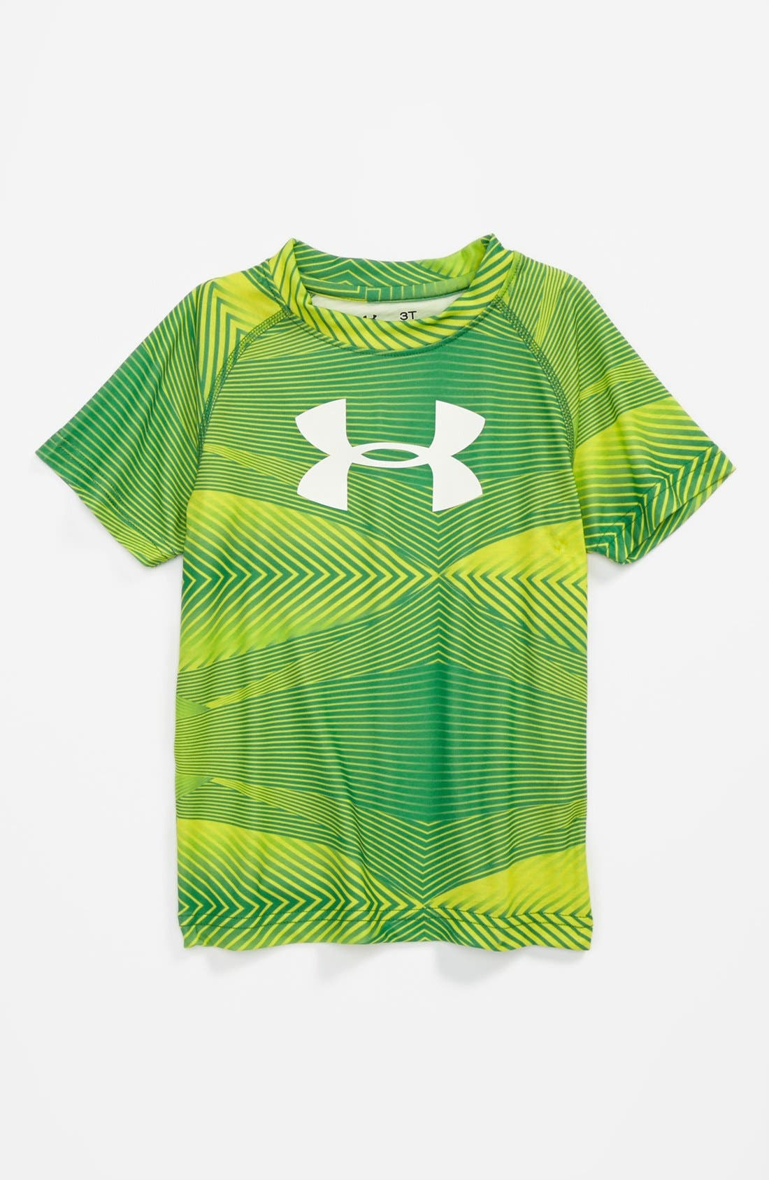 Alternate Image 1 Selected - Under Armour Ultralight HeatGear® Tee (Toddler Boys)