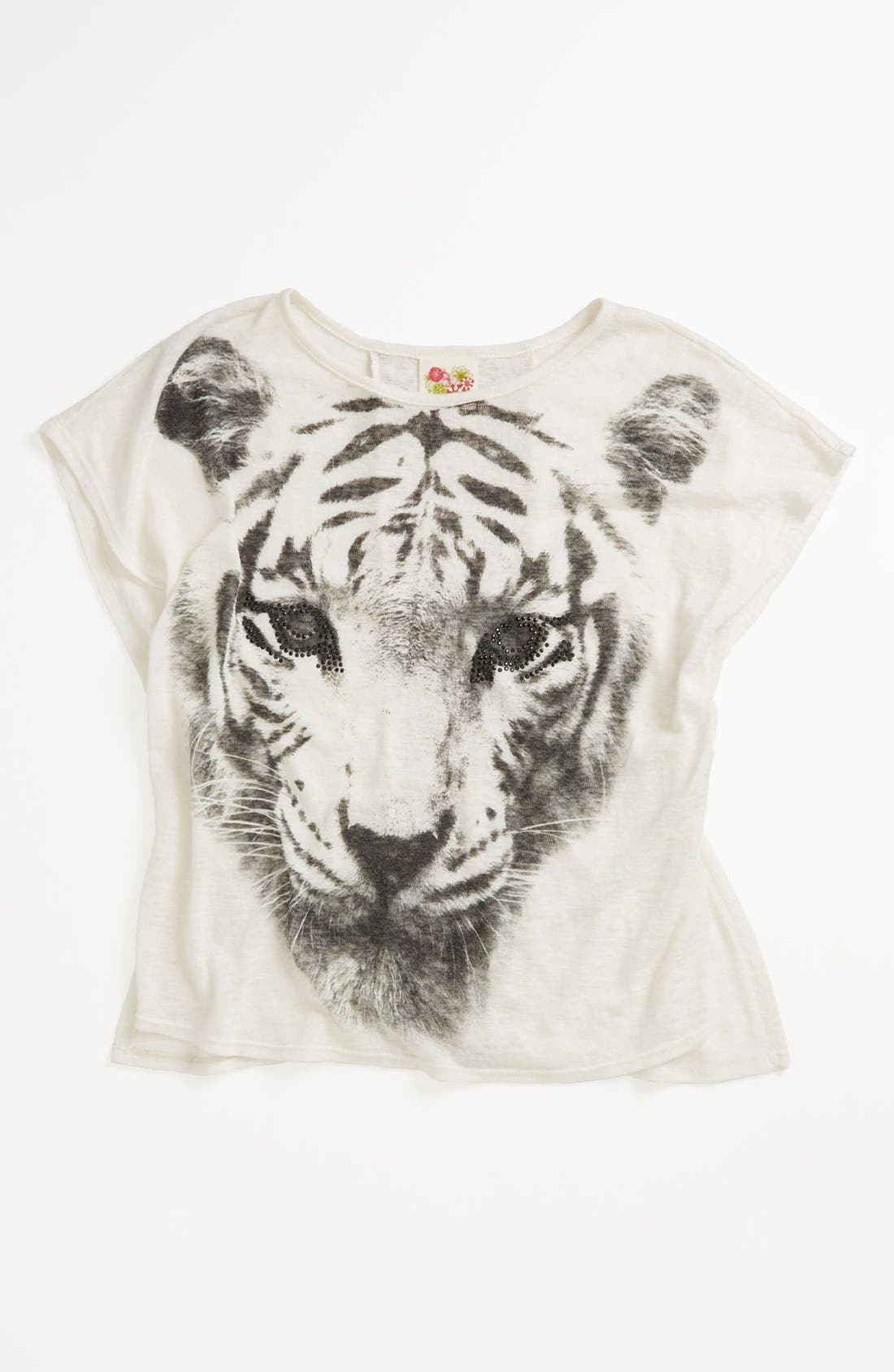 Main Image - Kiddo Graphic Tee (Big Girls)