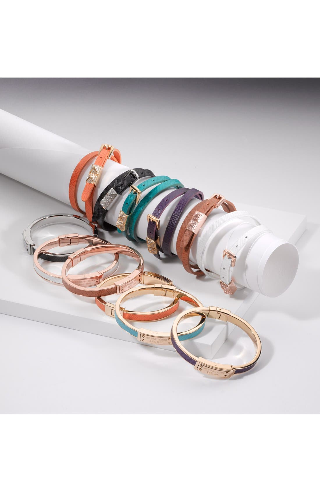 Alternate Image 3  - Michael Kors Leather Double Wrap Bracelet (Nordstrom Exclusive)