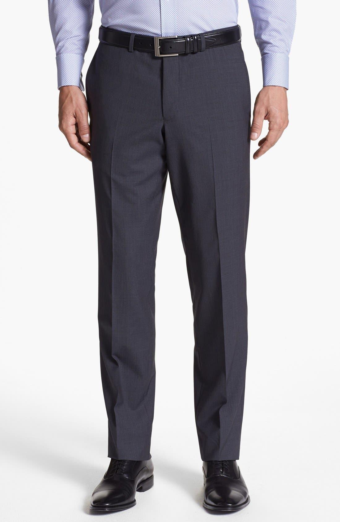 Alternate Image 5  - Ted Baker London 'Jim' Pinstripe Wool Suit