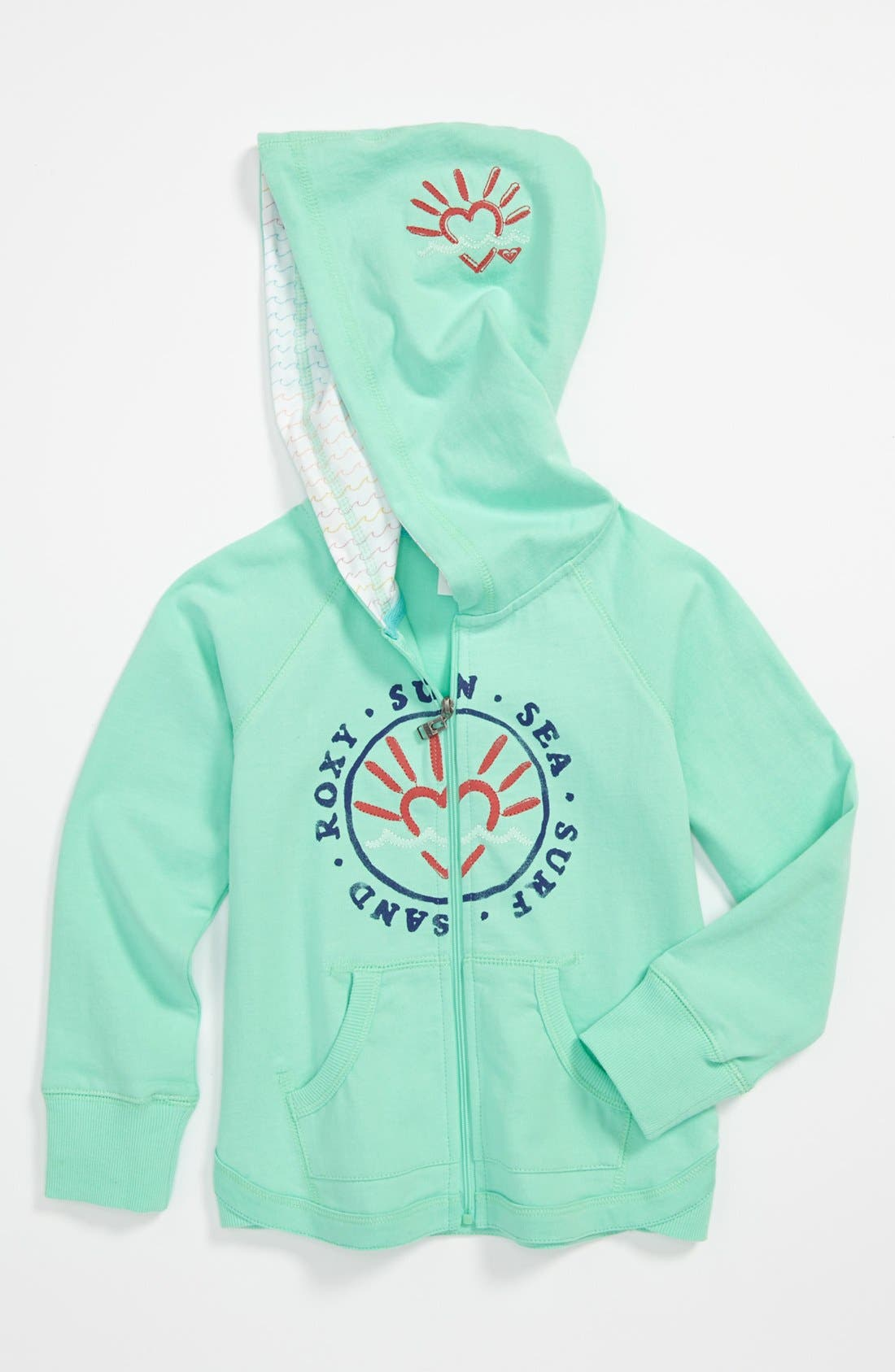 Main Image - 'Beach Air' Hoodie (Little Girls)