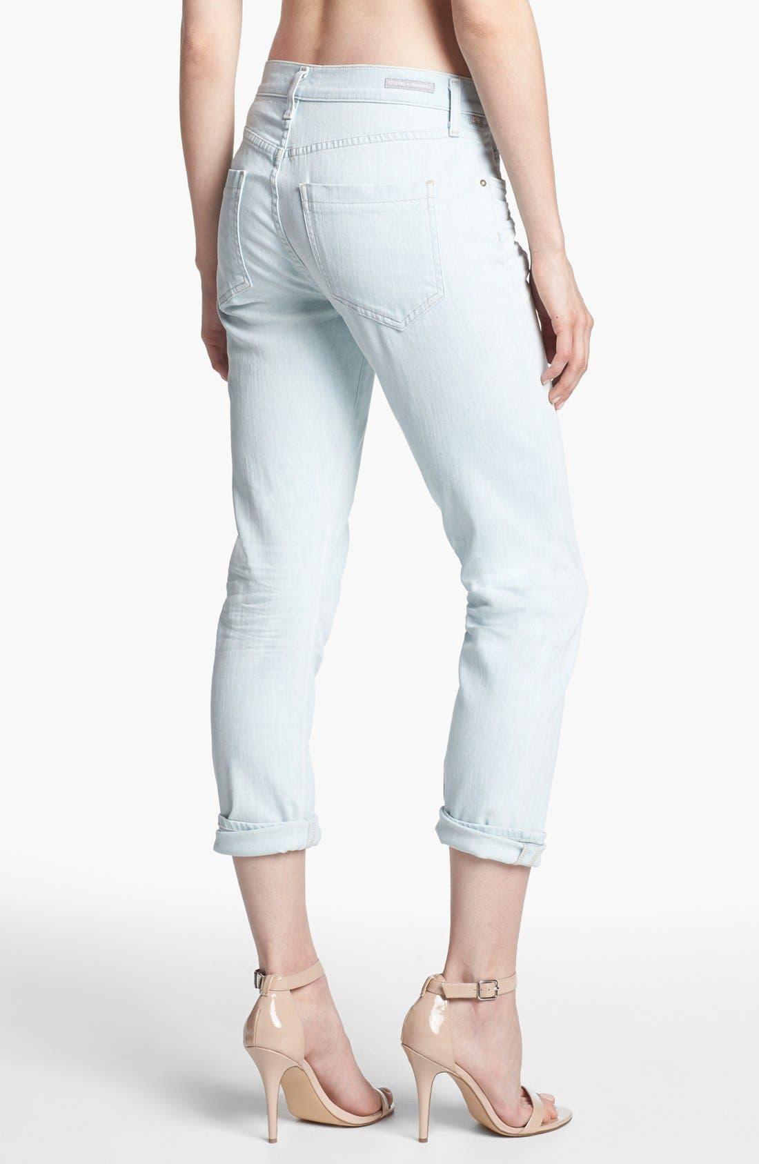 Alternate Image 2  - Citizens of Humanity 'Carlton' Skinny Crop Jeans (Serene)