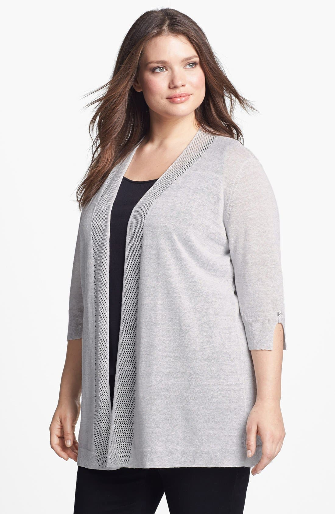Alternate Image 1 Selected - NIC+ZOE 'Firefly' Cardigan (Plus Size)