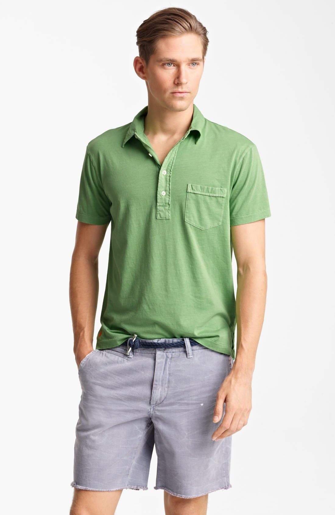 Alternate Image 1 Selected - Polo Ralph Lauren Classic Fit Jersey Polo