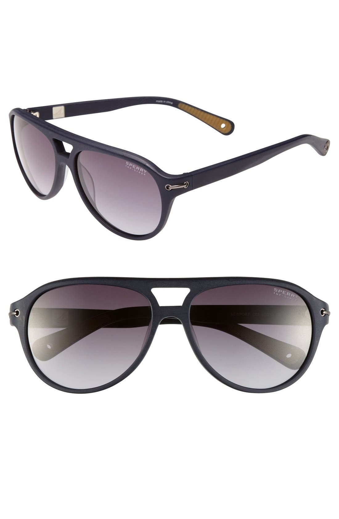 Alternate Image 1 Selected - Sperry Top-Sider® 'Newport' 57mm Sunglasses (Online Only)