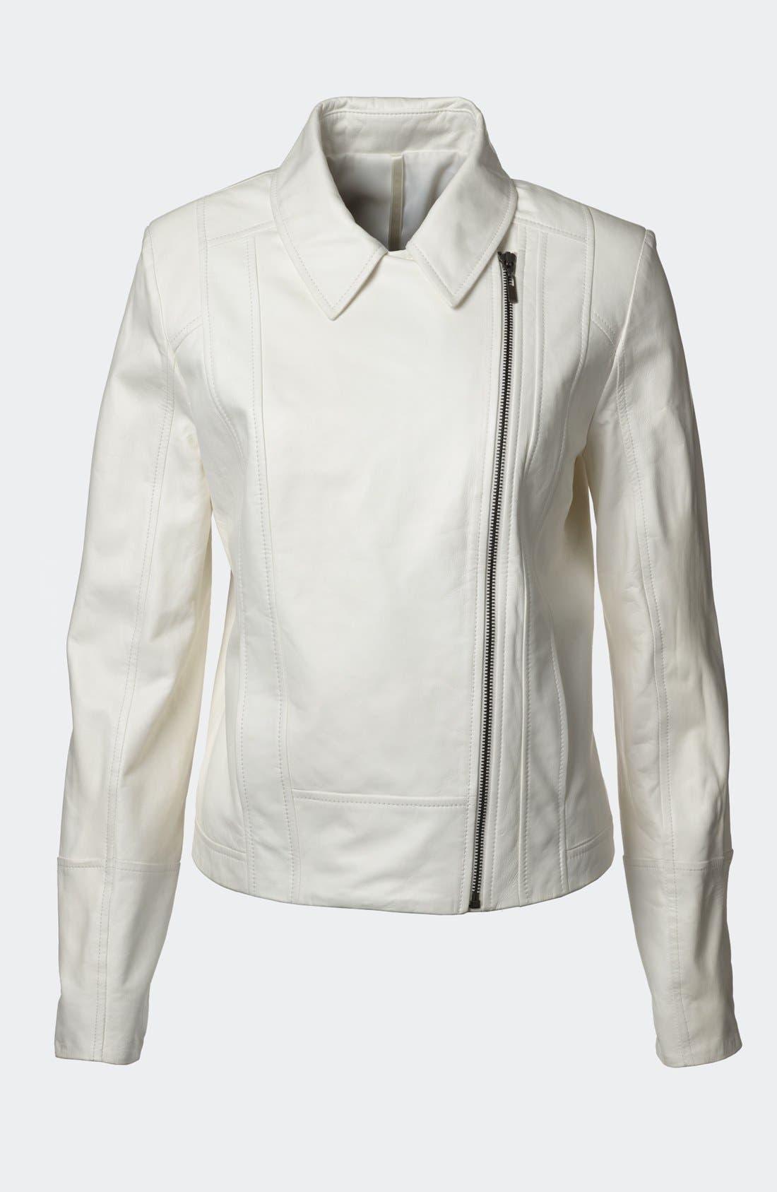 Alternate Image 6  - Truth & Pride 'Beekman' Leather Jacket