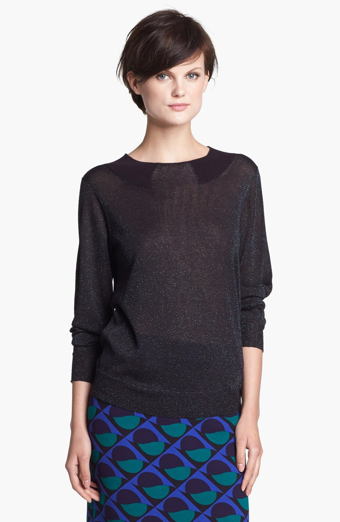 Alternate Image 1 Selected - MARC BY MARC JACOBS Trompe l'Oeil Sweater