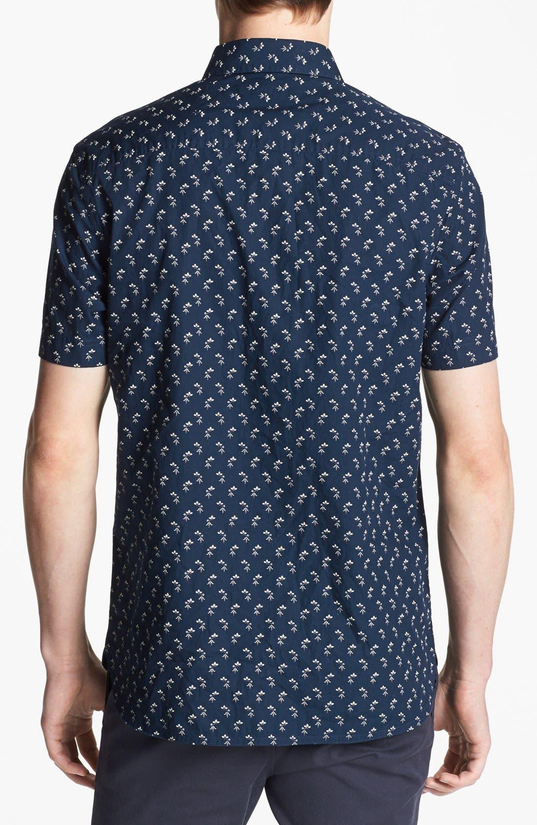 Alternate Image 3  - Original Penguin 'Industry Geo' Slim Fit Print Woven Shirt
