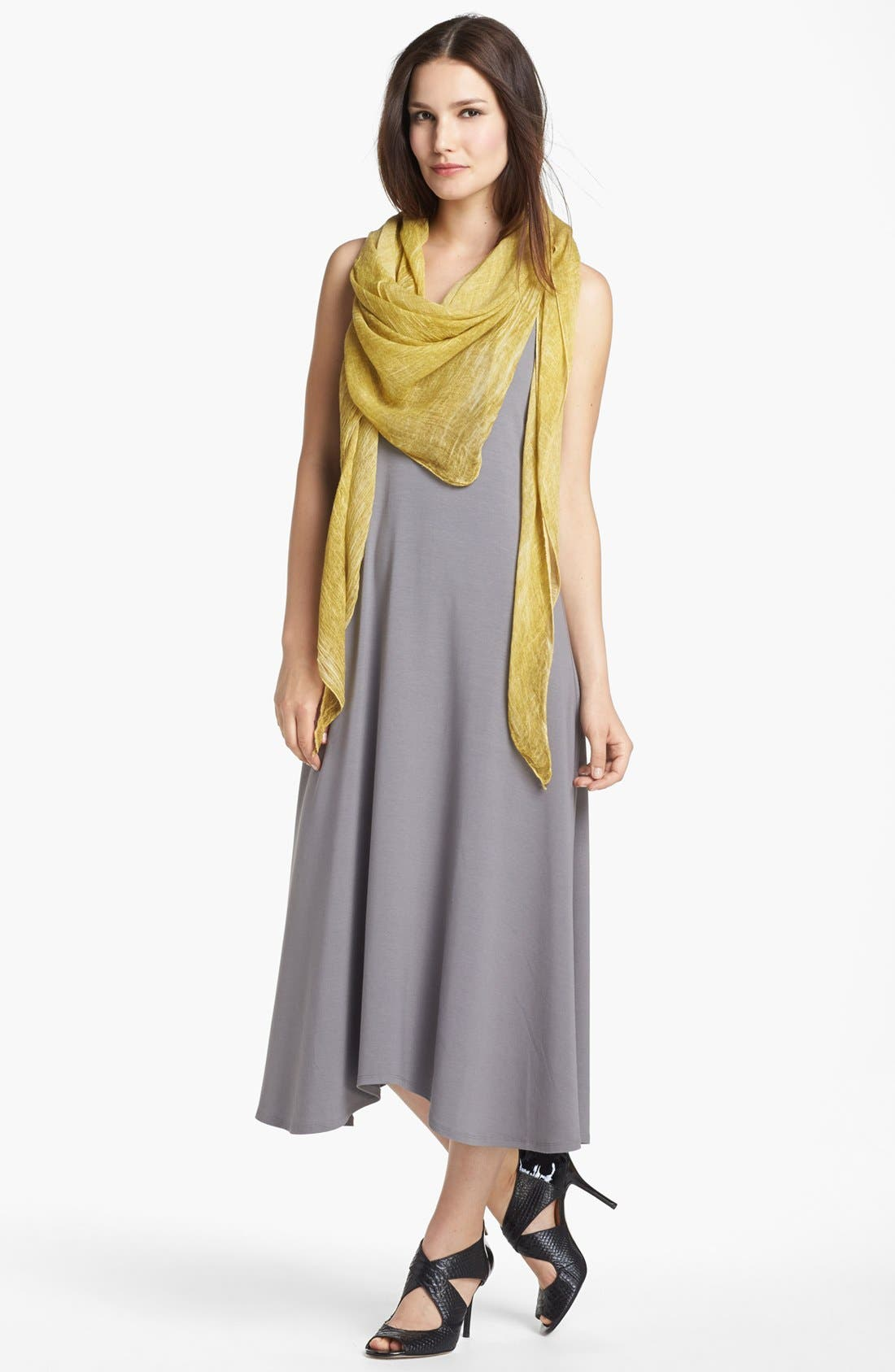Alternate Image 4  - Eileen Fisher Tinted Triangle Scarf