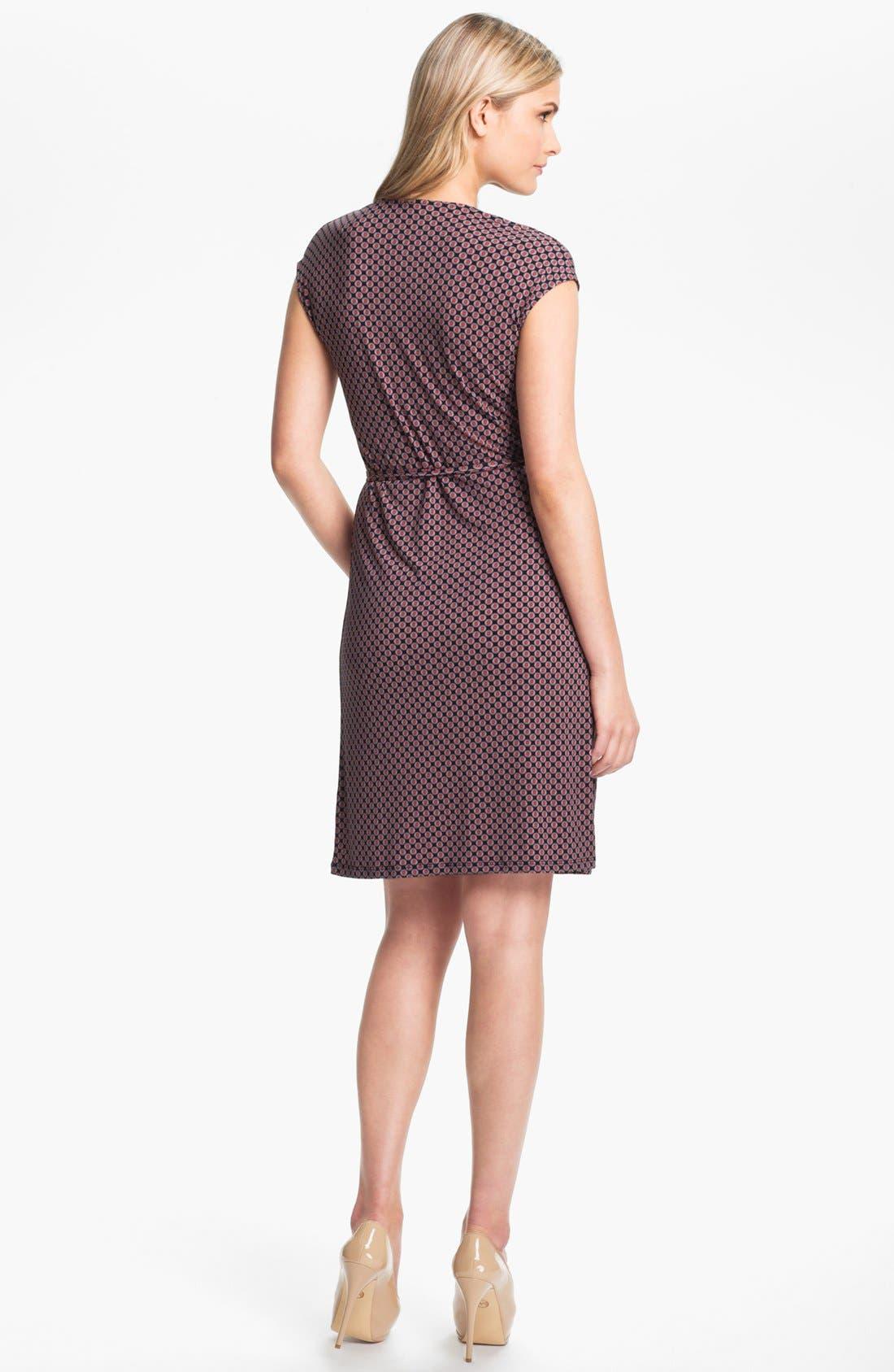 Alternate Image 2  - MICHAEL Michael Kors Print Wrap Dress (Plus Size)