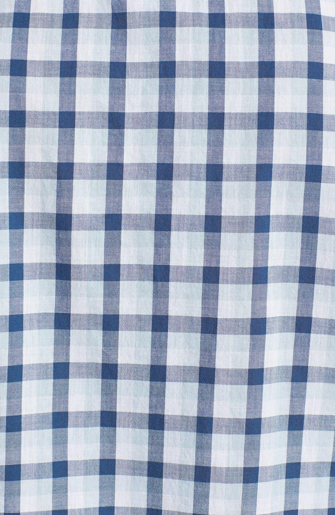 Alternate Image 3  - Benson Check Short Sleeve Sport Shirt
