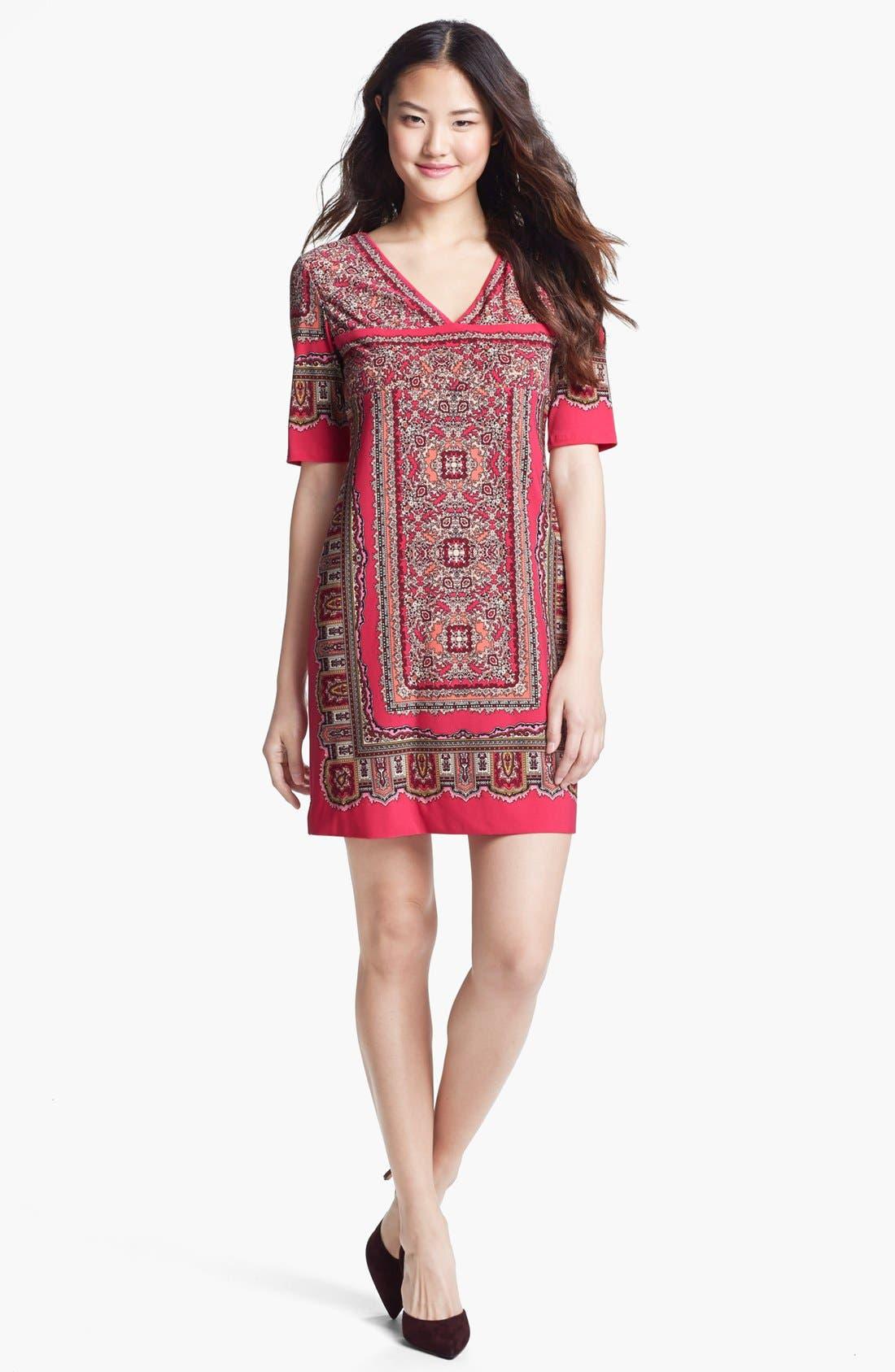 Main Image - Donna Morgan Print Shift Dress