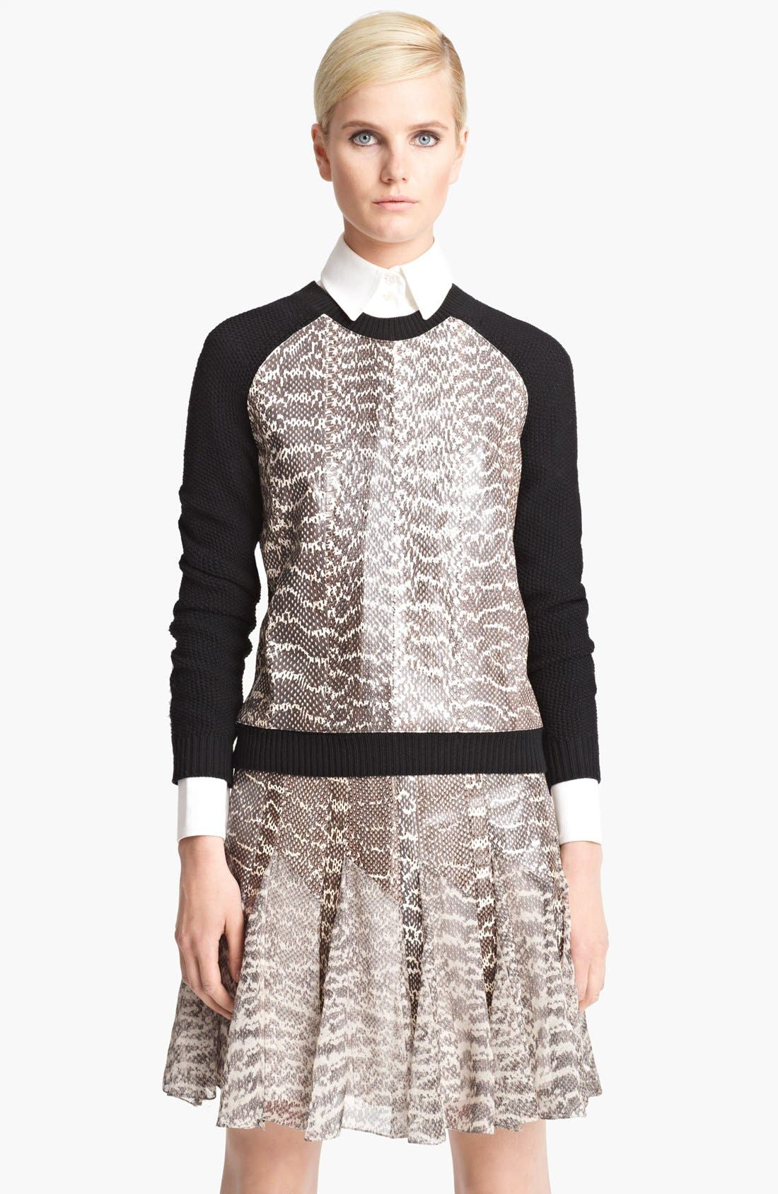 Alternate Image 1 Selected - Jason Wu Raglan Sweatshirt
