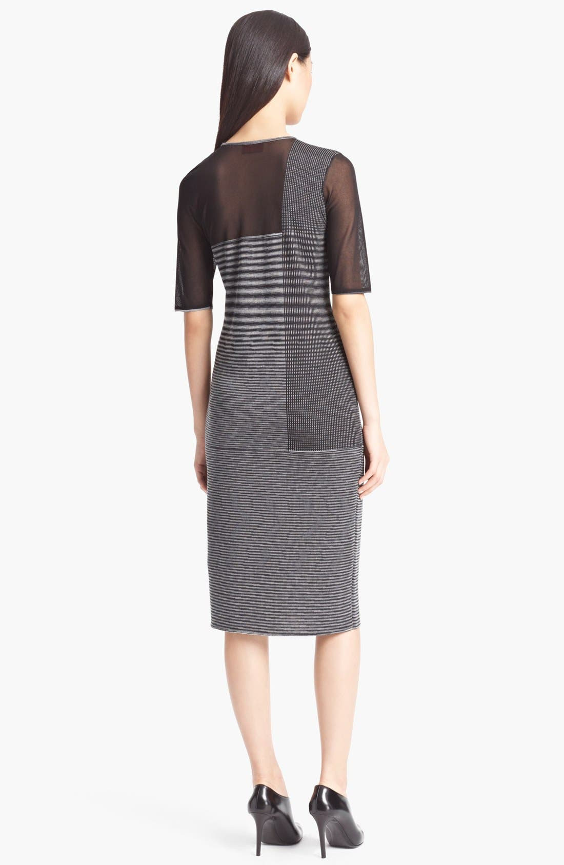 Alternate Image 2  - Missoni Sheer Panel Dress