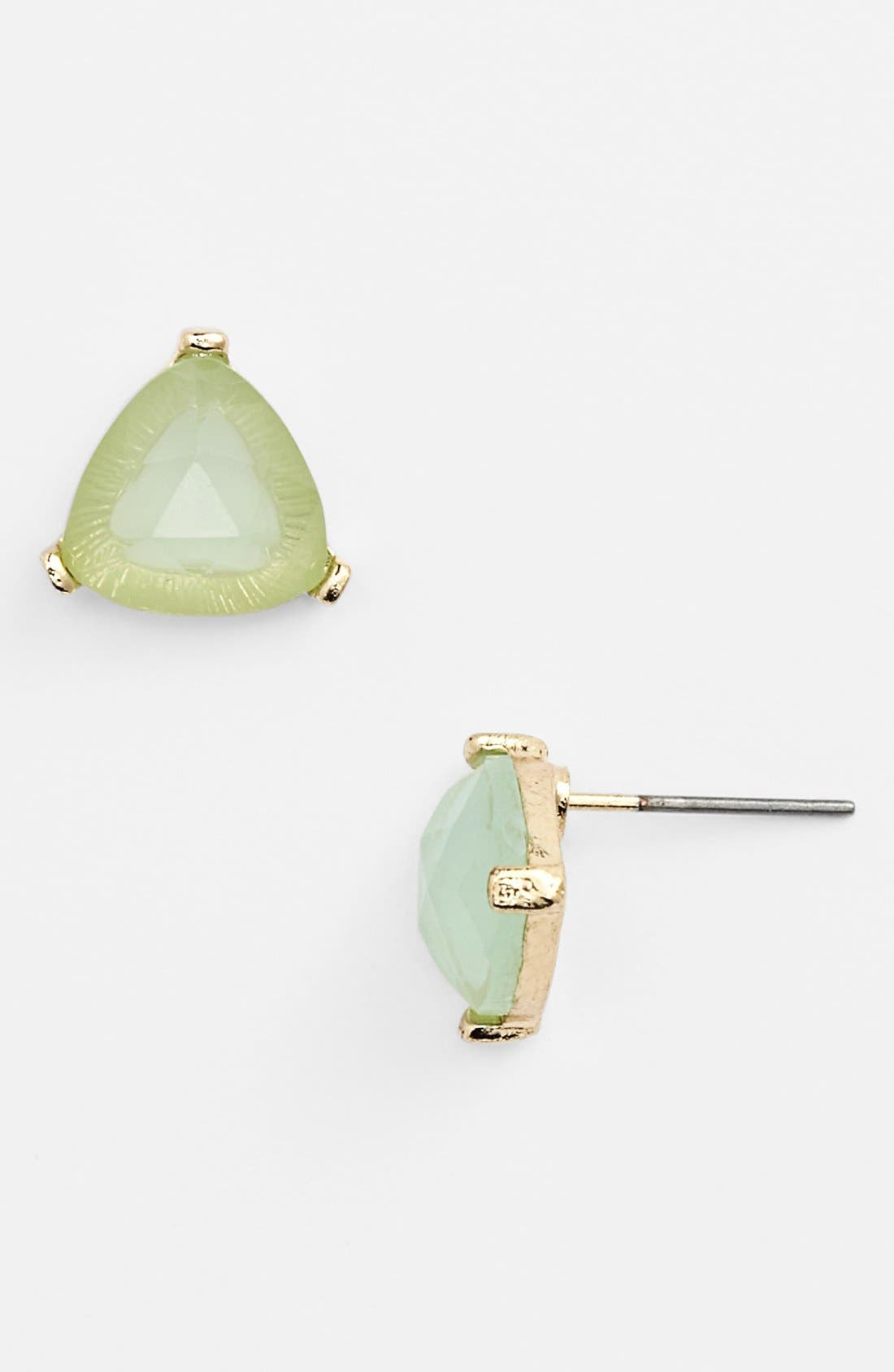 Alternate Image 1 Selected - Rachel Triangle Stone Stud Earrings