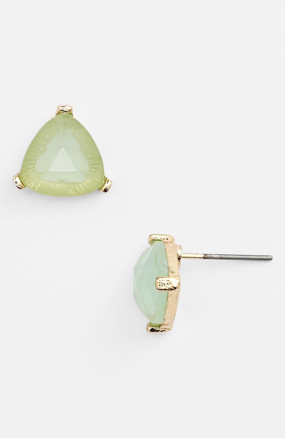 Main Image - Rachel Triangle Stone Stud Earrings