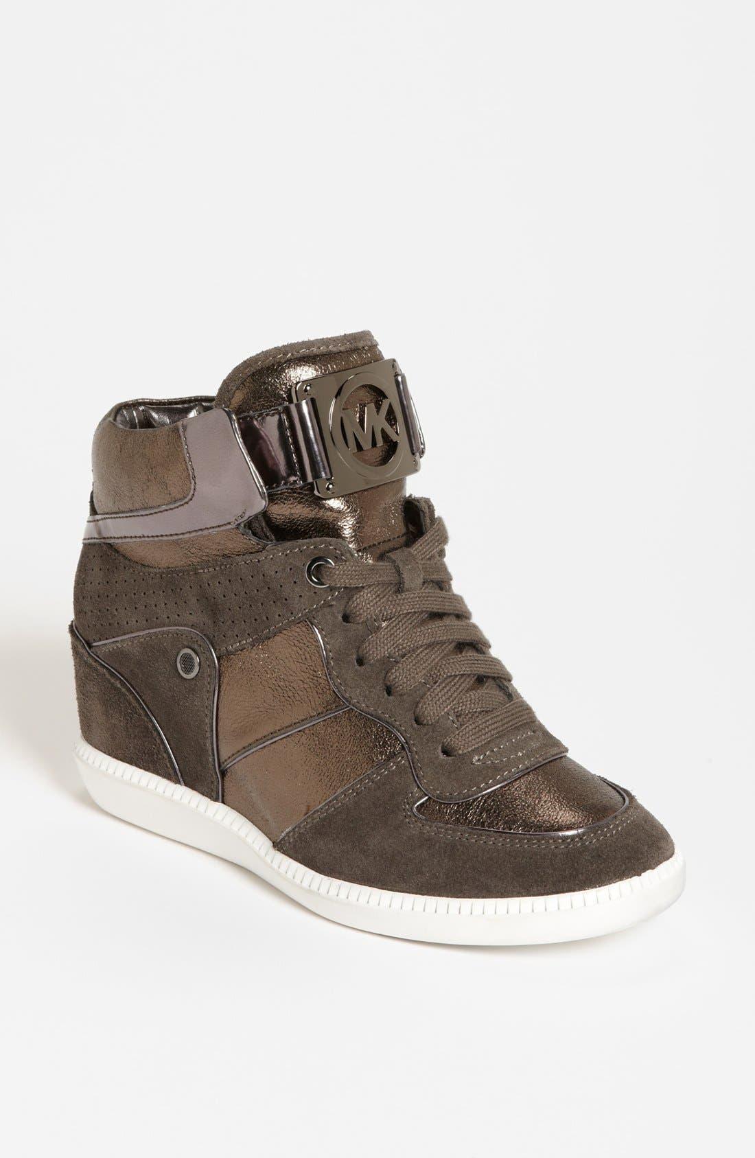 Alternate Image 1 Selected - MICHAEL Michael Kors 'Nikko' High Top Sneaker