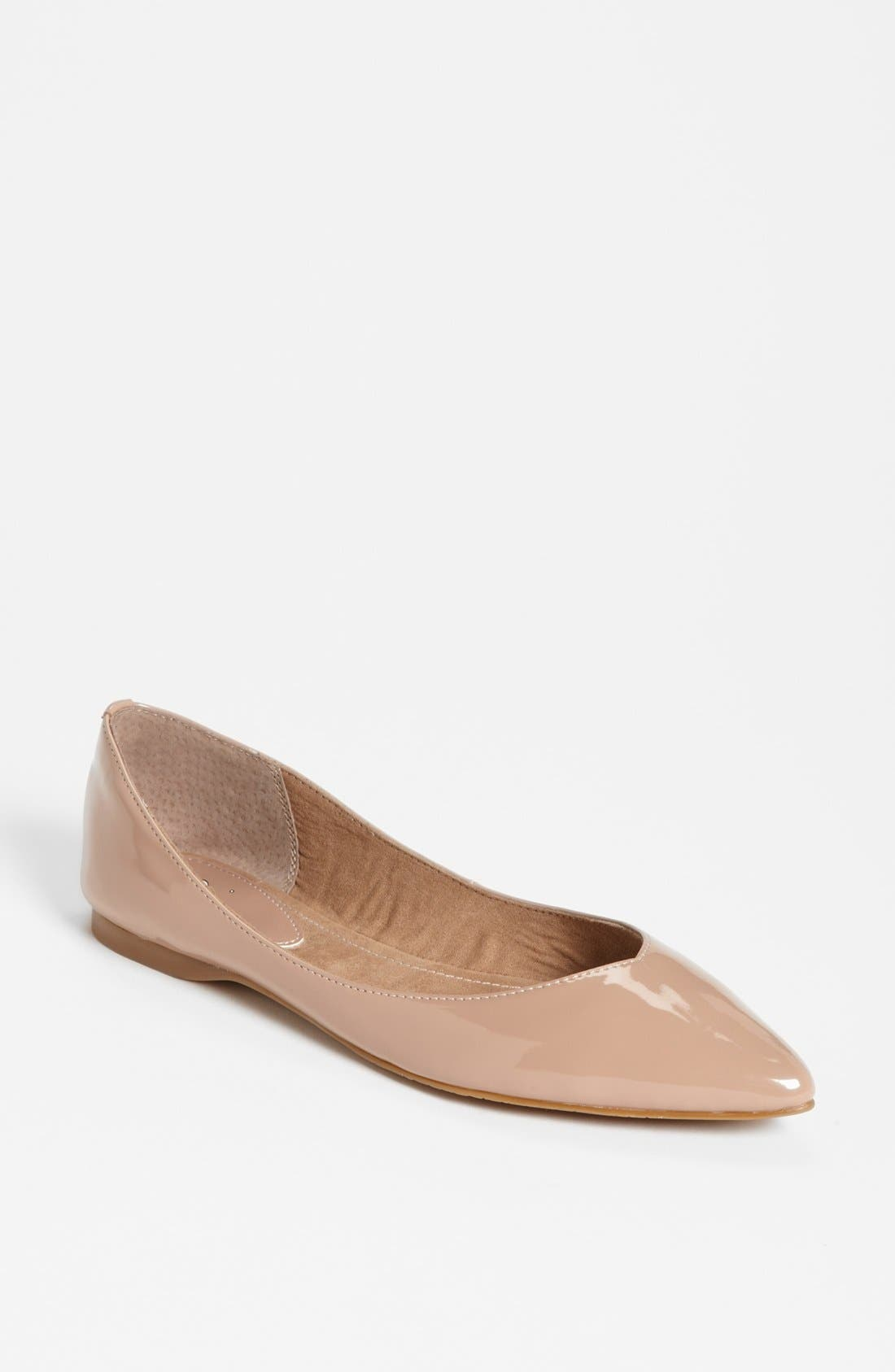 BP. 'Moveover' Pointy Toe Flat (Women)