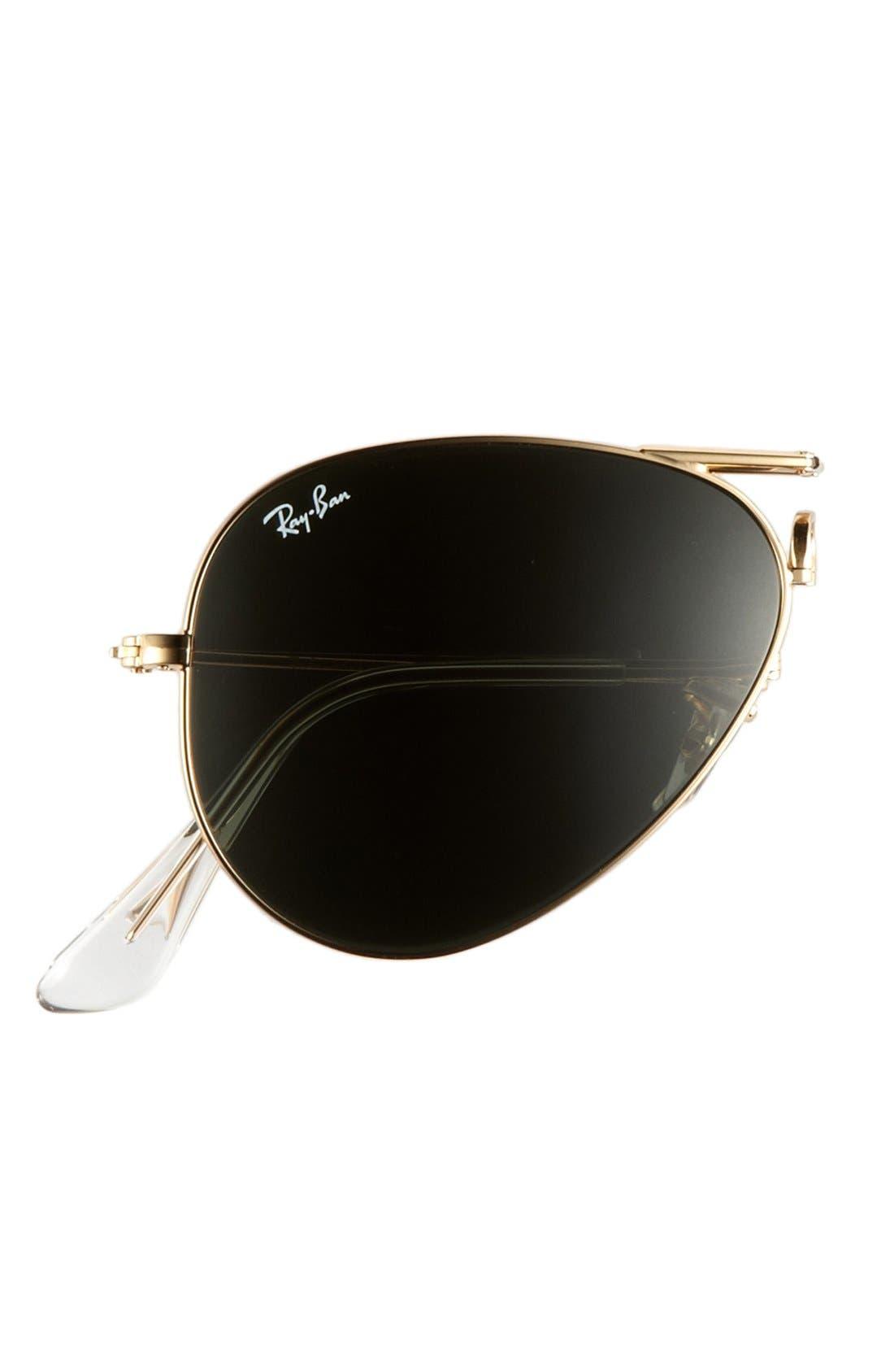 Alternate Image 2  - Ray-Ban 58mm Folding Sunglasses