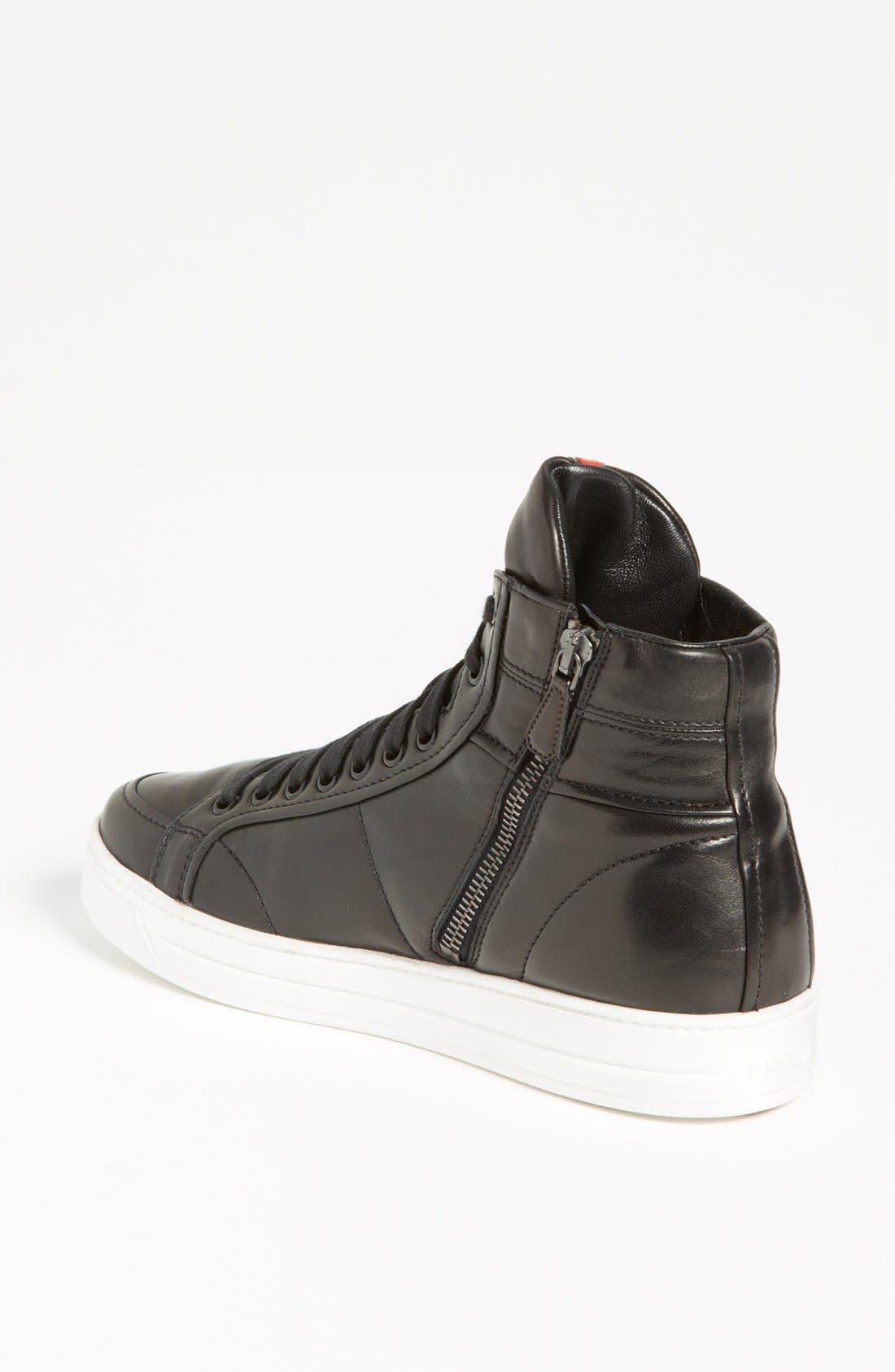 Alternate Image 2  - Prada High Top Sneaker