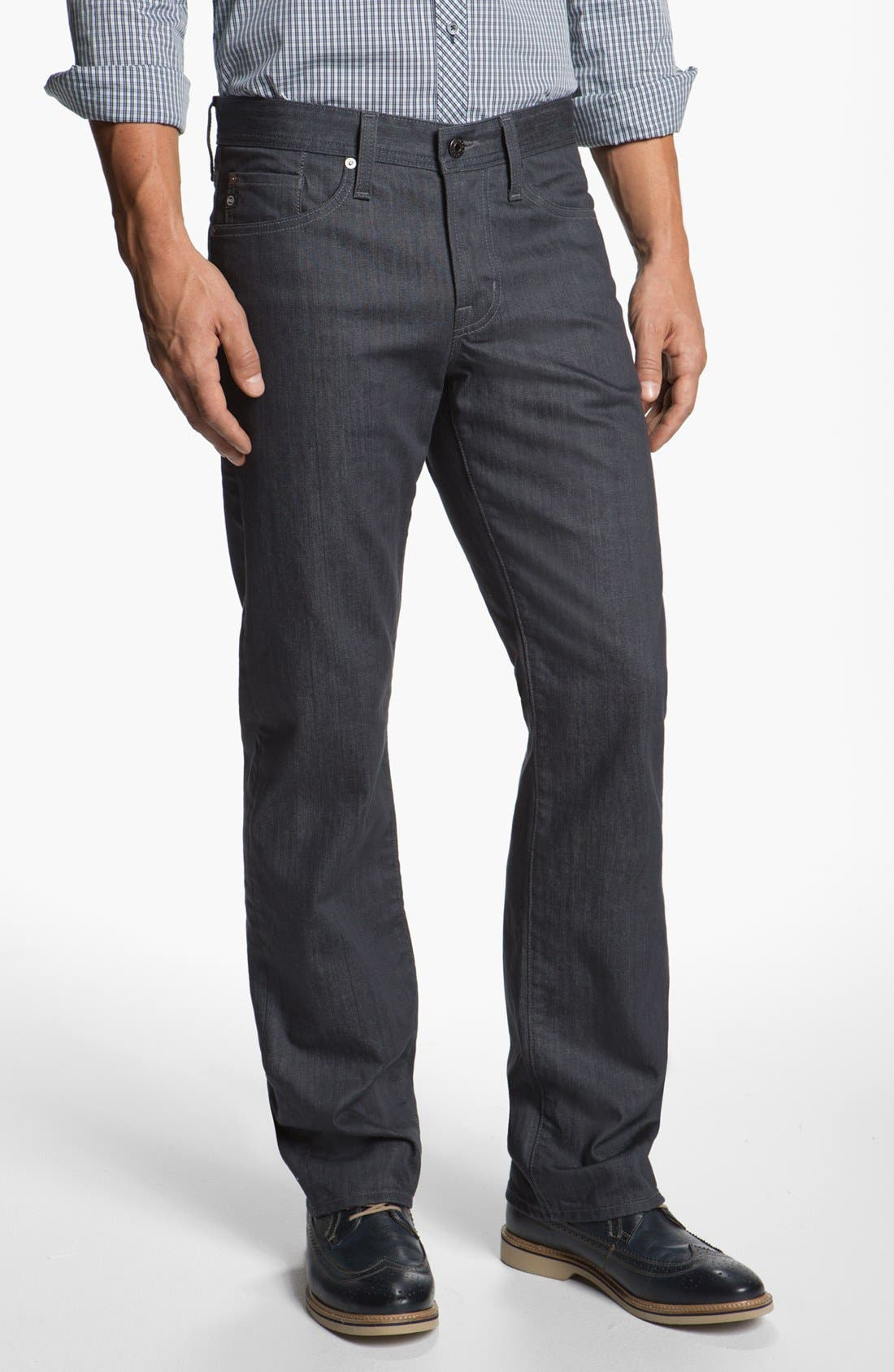 Alternate Image 1 Selected - AG 'Protégé' Straight Leg Jeans (Airlift)