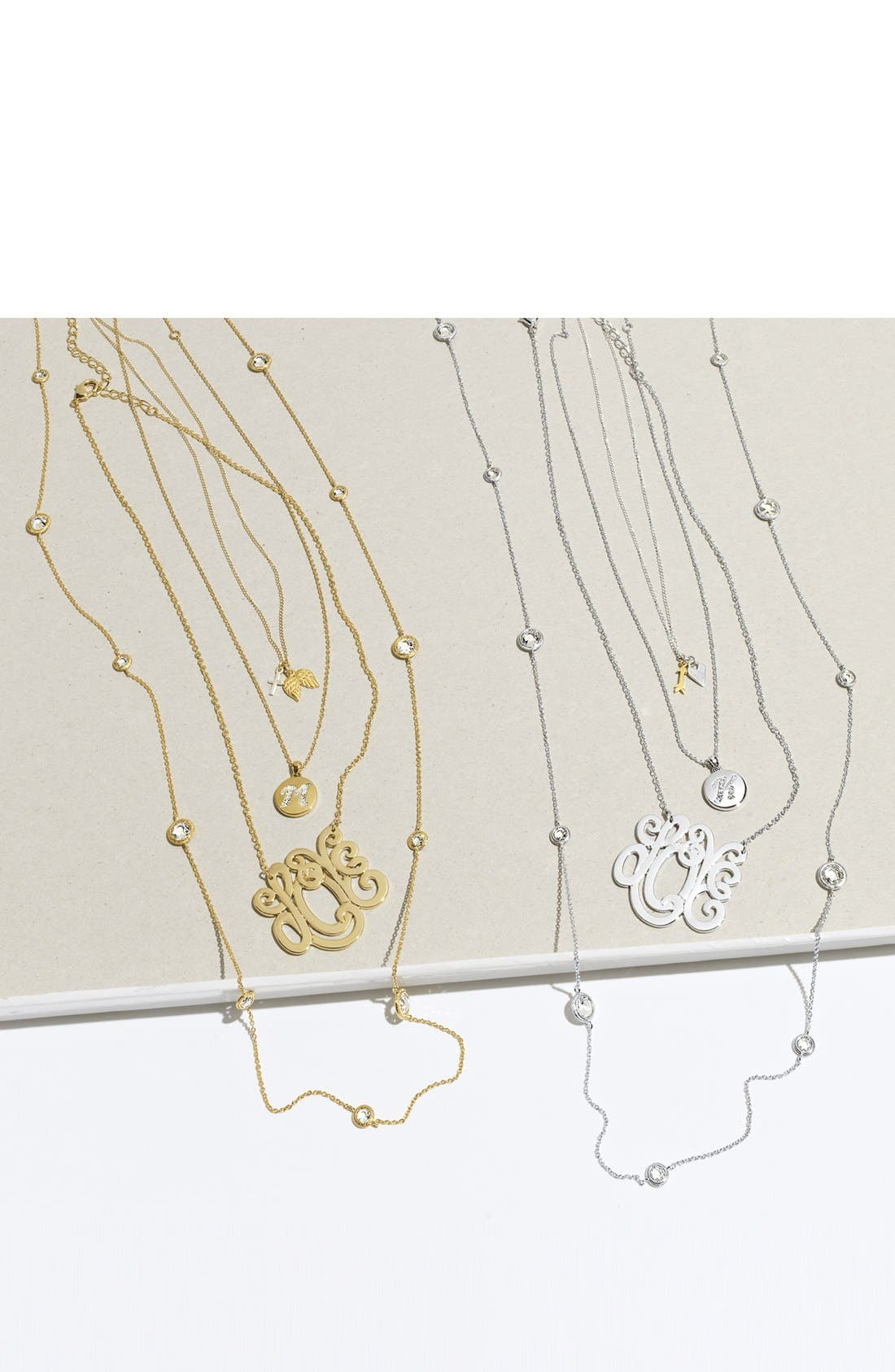 Alternate Image 3  - Ariella Collection 'Love' Pendant Necklace (Nordstrom Exclusive)